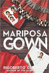 Mariposa Gown book cover art