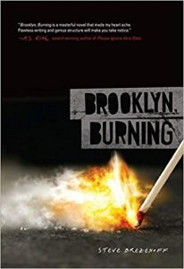 Brooklyn, Burning book cover art