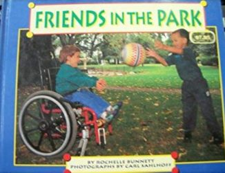 Friends in the Park book cover art