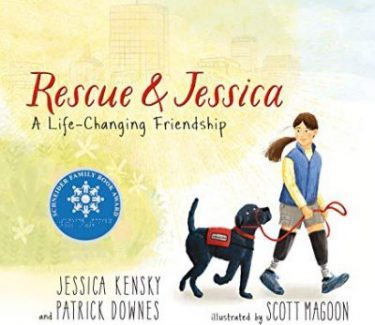 Rescue and Jessica book cover art